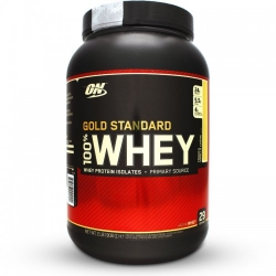 Gold standars 100% Whey, 908g